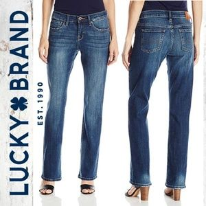 Lucky Brand Easy Rider Bootcut Button Fly Jeans